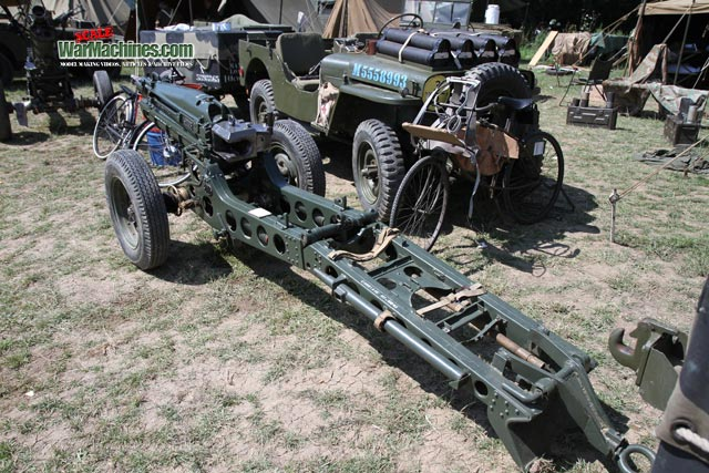75mm Pack Howitzer - Walkaround