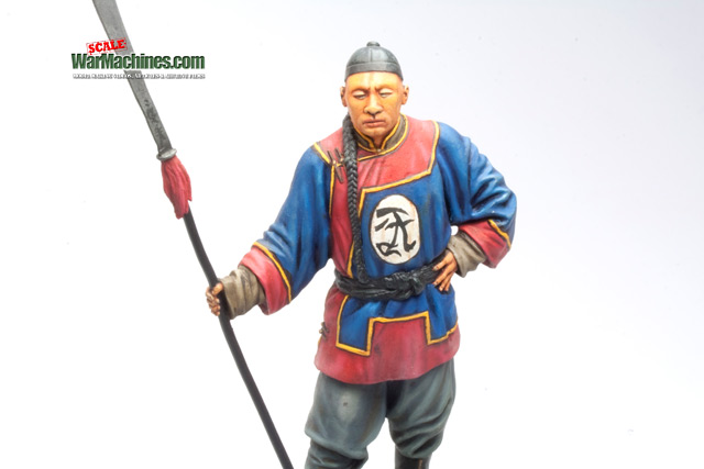 Chinese Boxer Rebel Figurine