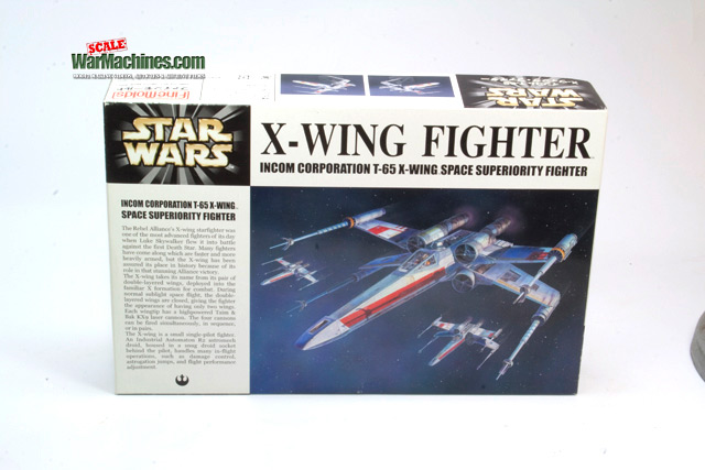 Fine Molds X-Wing 1:48th Review