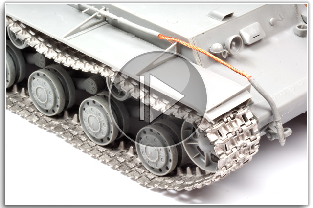 Friulmodel Metal Replacement Tank Tracks
