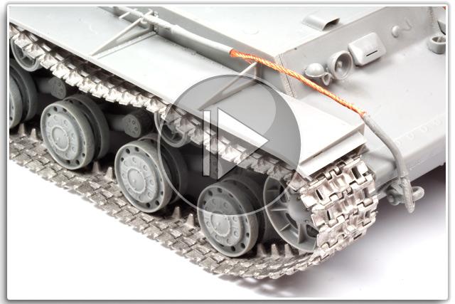 Friulmodel Metal Replacement Tank Tracks