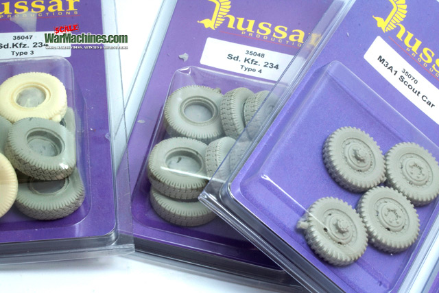 Wheel Upgrade Sets From Hussar Productions