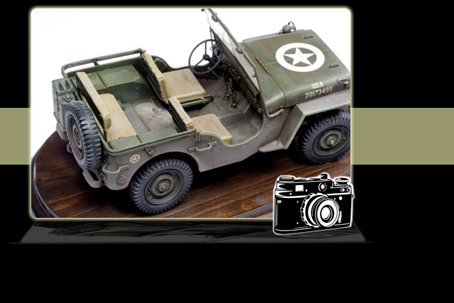 Italeri Jeep 1:24th Scale Ref 3721