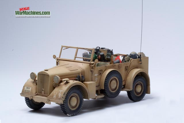 Italeri Horch kfz15 Reference 6215