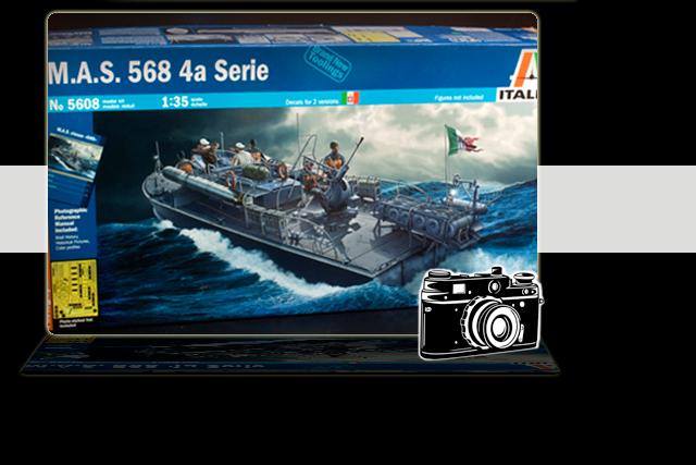 Italeri MAS 568