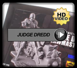 Dark World Creations Judge Dredd on Lawmaster Mk1 70mm