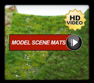 Model Scene Diorama Grass Mats
