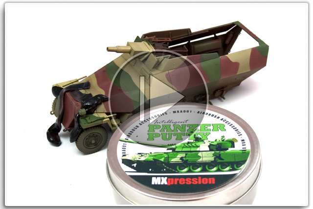 Panzer Putty Camouflage MXpression