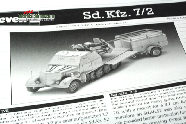 Revell 1/72nd Scale Sdkfz.7/2 Halftrack 30207