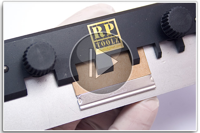RPToolz Photoetch Bending Device