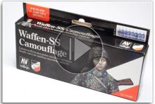 Vallejo Waffen SS Camouflage Set Ref: 70180
