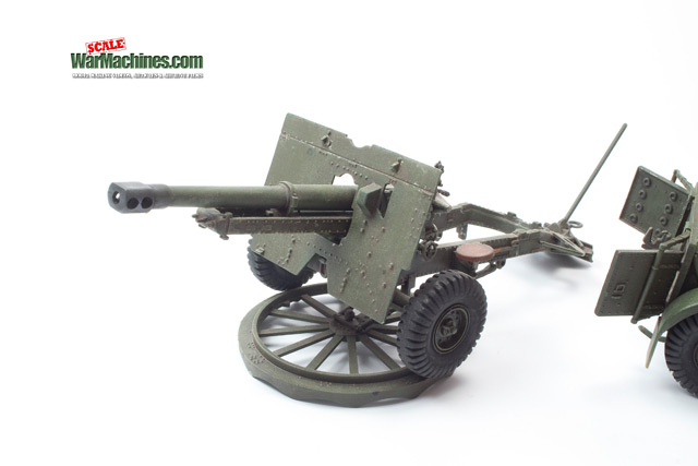 Tamiya 25PDR Gun (Ref: 35046)