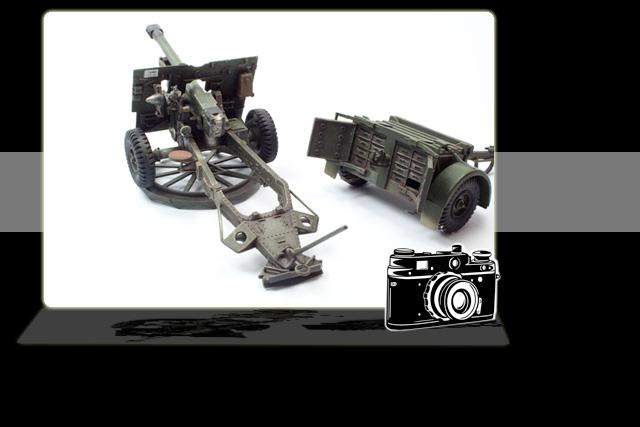 Tamiya 25PDR Gun