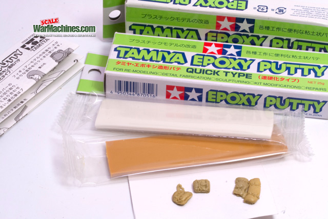 Tamiya Quick Type Putty