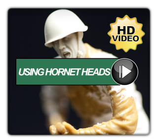 Using Hornet Heads For Your Figures